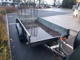 Ifor Williams twin axle trailer GD105G 2700kg