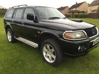 2004 MITSUBISHI SHOGUN SPORT 4X4 LOW MILES YEARS MOT EXCELLENT CONDITION *NEW TIMING BELT KIT* !!!!!