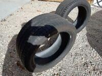 Michelin 255 40 17 part worn tyres