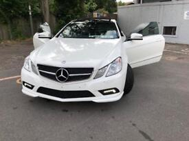 MERCEDES E350 AMG SPEC WARRANTY INCLUDED