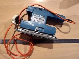 SOLD - Black and Decker Finishing Sheet Sander - DN41 (electric, power tool)