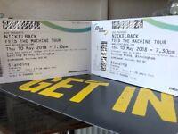 Nickelback tickets - standing - Birmingham