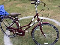 Ladies Real 3 speed Town bike