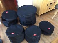 Pearl drum bag case set