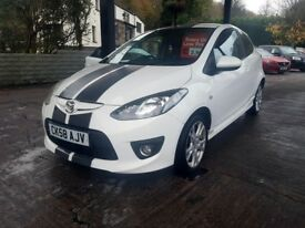 Mazda2 1.5 Sport 3dr Petrol, Alloys, Perfect Condition , CARD PAYMENTS, CAR4YOU DRIVE AWAY TODAY