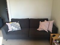 3 Seater Habitat Sofa (grey) VGC, One Year Old, £800 new