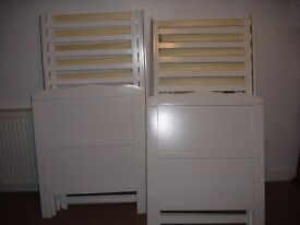 2 identical cot beds for sale £50 each ono