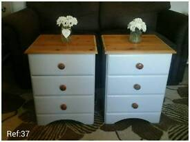Pair Of Bedside Tables.