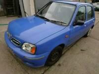 Nissan Micra 2000, 1.0, no MOT, spare or repair