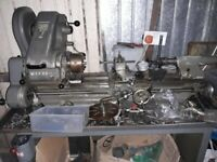 MyFord Super 7 Lathe and Tools