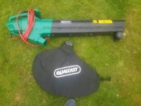 Qualcast electric blower vac