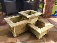 🌼🌺💐 3 Tier Level Garden Planter with Sils ONLY £57💐🌺🌼