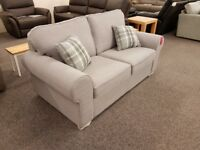 Ex Display 2.5 Seater Sofa Light Grey **CAN DELIVER**