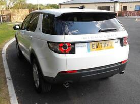 Land Rover Discovery Sport TD4 PURE SPECIAL EDITION (white) 2017-03-30
