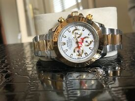 ROLEX DAYTONA 116503 18CT YELLOW GOLD & STAINLESS STEEL 40MM WHITE DIAL WATCH