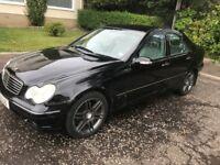 Mercedes c/class elegance 2002