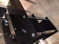 Chrome /glass desk