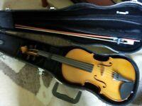 fullsize (4/4) Stentor II violin -excellent condition, bargain half RRP price (£228)