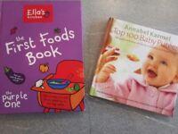 Annabel karmel and ellas kitchen baby weaning books