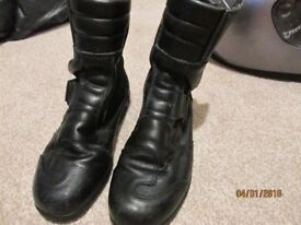 Lady's motorbike boots