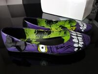 Size 4 Good Condition Women's Iron Fist Monster Flat Shoes