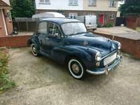 Morris minor 1000 classic car