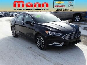 2017 Ford Fusion SE - Leather, Rear view camera, Heated seats, A