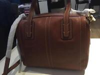 Fossil Leather bag - new