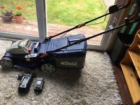 S&J 40V Cordless 42cm Lawnmower