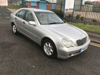 mercedes c180 kompressor auto saloon petrol 92k mileage mot alloy wheels