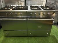 Lacanche range cooker double oven stainless steel inc vat and extractor