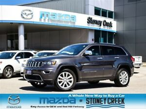 2017 Jeep Grand Cherokee Limited Leather Sunroof Nav Heated Seat