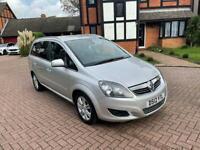 2012 Vauxhall Zafira Design 1.7 diesel 7 seater cheap low mileage