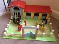 Le Toy Van riding stables