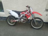 2011 Honda crf450 crosser