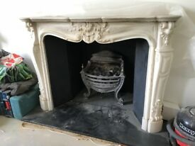 Beautiful decorative fireplace