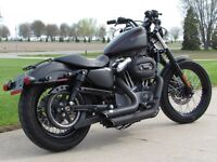 2012 Harley-Davidson XL1200N - Vance and Hines Exhaust - Only 6,