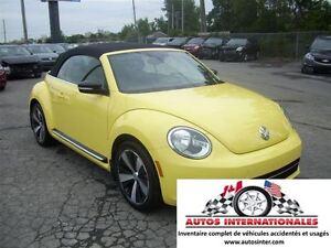 2014 Volkswagen Beetle SPORTLINE CABRIOLET 2.0T GR ELECT CUIR SI