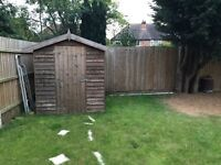 REDUCED PRICE! Wooden Shed
