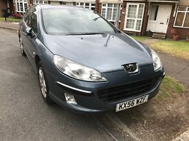 Peugeot 407 2.0 diesel auto breaking for parts / spares