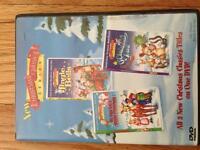 3 Christmas classics on one DVD $5