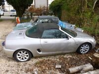 MGF sports car for restoration project.