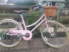 "Bobbin Brownie Girls Traditional Style Bike 24"""