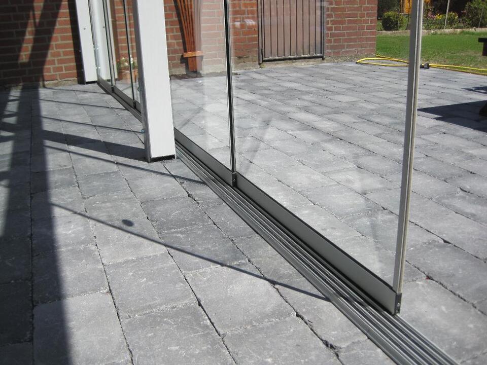 Terrassenüberdachung Terassendach Glas Windschutz Holz in Nordrhein-Westfalen - Grevenbroich
