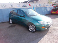 PART EX DIRECT OFFERS FOR SALE THIS CLEAN FORD FOCUS 1.6 GHIA 5DOOR £795!!