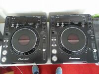 One Pair of Pioneer CDJ 1000 Mk3