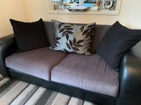 2 sofas like new both 3 seaters