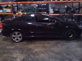 Vauxhall Astra Bertone Coupe 2.2 Petrol Black Breaking All Parts