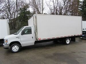 2014 Ford E-450 18 ft gas cube van