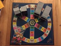 Trivial Pursuit: Master Game Genus Edition with an additional Genus cardset